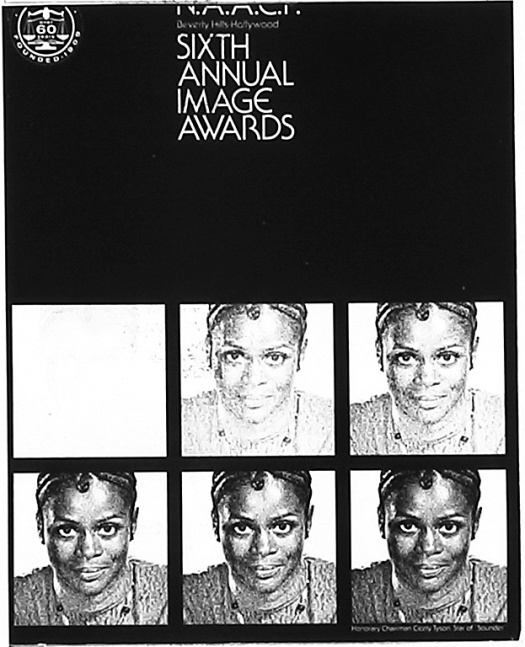 Program cover, 1972 NAACP Image Awards. (Papers of the NAACP [microfilm], Part 29, Series A, Reel 12)